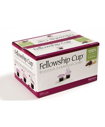 ∗Fellowship Cup - Prefilled Juice & Wafer Cups - 500 Count Box
