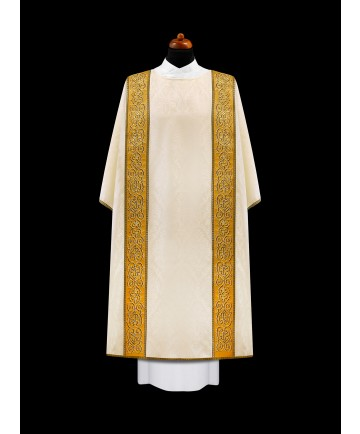 Dalmatic by Alba with Embroidered Gold Panels