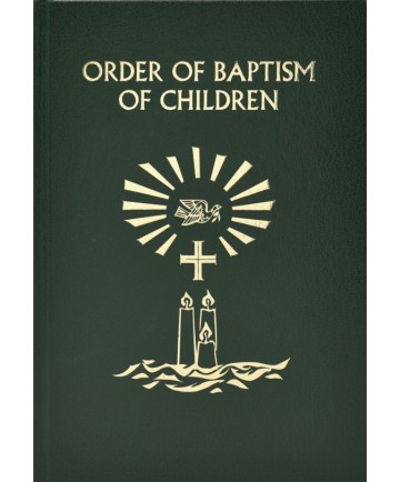 ∗NEW∗ Order of Baptism of Children - Ritual Edition from Catholic Book
