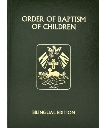 ∗NEW∗ Order of Baptism of Children - Bilingual Ritual Ed. from Catholic Book