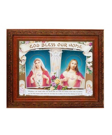 """House Blessing Framed Picture 10.25"""" x 12"""""""