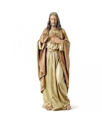 """Sacred Heart of Jesus 37.5"""" Statue 37.5"""" from Renaissance Collection"""