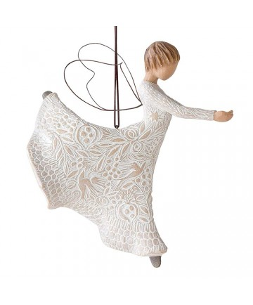Dance of Life WillowTree Angel Ornament