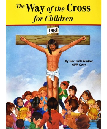 Way of the Cross for Children St Joseph Picture Book