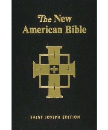 NABRE St Joseph Hardcover Deluxe Student Edition (Black)