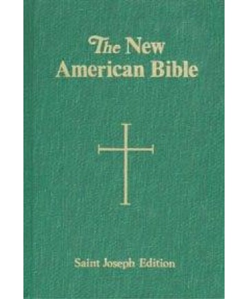 NABRE St Joseph Hardcover Deluxe Student Edition (Green)