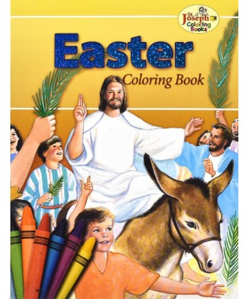 Easter St Joseph Coloring Book