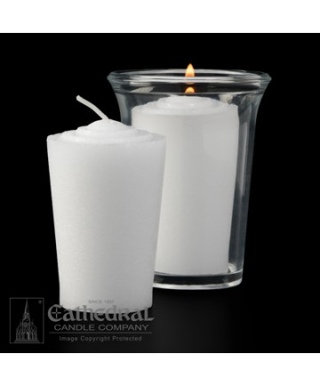 24 Hour Tapered Votive Candles