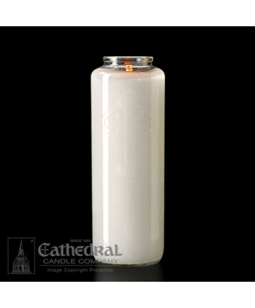 6 Day Gleamlight Clear - Glass Offering Candles