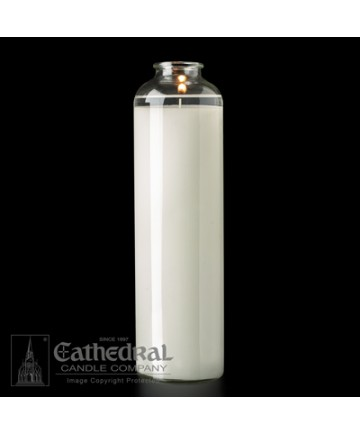 14 Day Glass SacraLite Sanctuary Candles