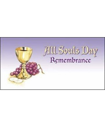All Souls Day Purple Remembrance Offering Envelopes