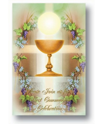First Communion Party Invitations