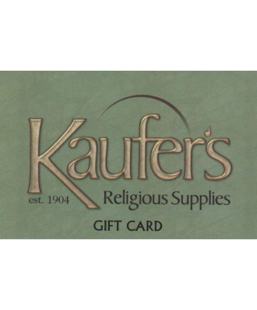 Kaufer's Gift Card