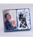First Communion Boy's Rosary and Praying Card Set