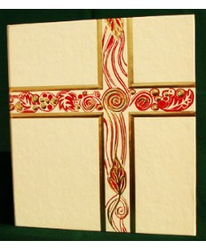 Christ Our Light Ceremonial Binder (Ivory with Gold Foil)