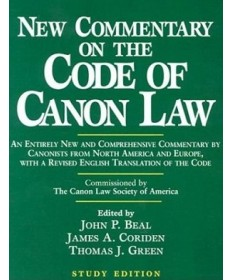 New Commentary on the Code of Canon Law (Study Edition)