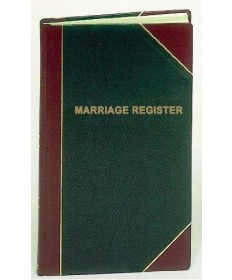 Marriage Register for 1,000 Entries