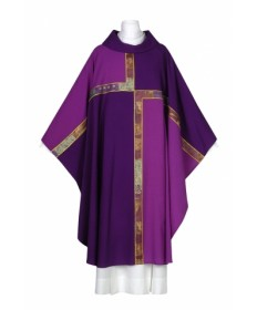 Bernini Collection Purple Chasuble by Arte Grossé ∗SALE∗