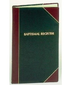 Baptismal Register for 1,000 Entries