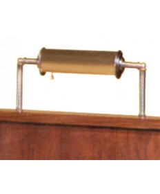 Brass Lamp for Woerner Pulpits and Lecterns with Tubular Sides