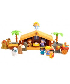 Fisher-Price Little People A Christmas Story Nativity Set