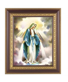 "Our Lady of Grace Framed Picture 11"" x 13"""
