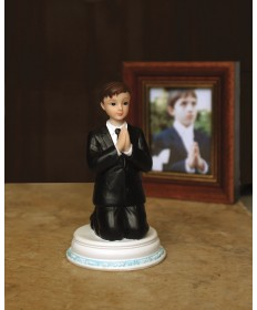 "First Communion 4.5"" Figurine - Boy"