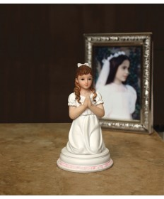 "First Communion 4.5"" Figurine - Girl"