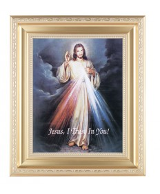 "Divine Mercy Framed Picture 11.5"" x 13.5"""