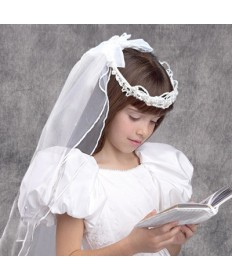 First Communion Veil - Regency