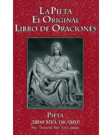 Pieta Prayer Book Spanish - Large Print