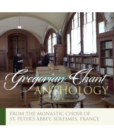 Gregorian Chant Anthology CD