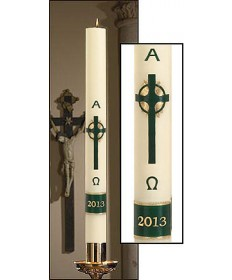 Divine Light Paschal Emerald Cross by Will & Baumer