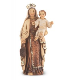 Our Lady of Mount Carmel Statue 4""