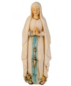 Our Lady of Lourdes Statue 4""