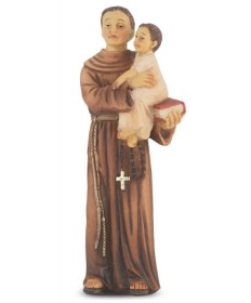"Patron Saint Statue 4"" - St Anthony"