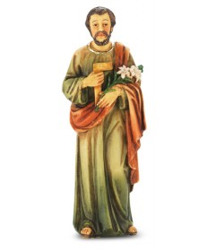 "Patron Saint Statue 4"" - St Joseph the Worker"