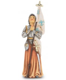 "Patron Saint Statue 4"" - St Joan of Arc"