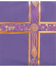 Ceremonial Binder - Royal Purple with Gold Foil