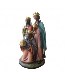 "24"" Wise Men with African Features from Italy for ""ADUA"" Set"