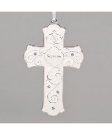 Baptism Cross 7.25""