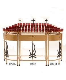 Votive Light Stand - 60 Lights