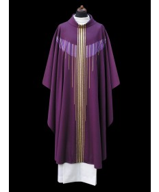 Chasuble by Alba Hand-woven with Chalice Veil