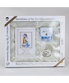 First Communion Missal Set for Girls - Traditional Edition