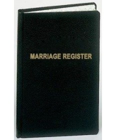 Marriage Register for 500 Entries