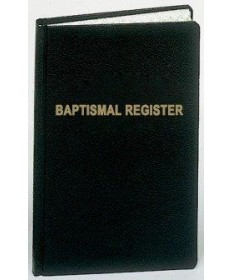 Baptismal Register for 500 Entries