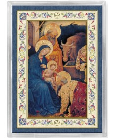 Nativity Acrylic Magnet with Easel