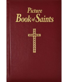 Picture Book Of Saints - Burgundy Leather
