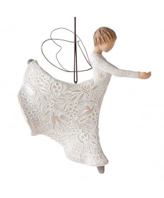 Dance of Life Angel Ornament