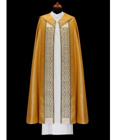 Cope by Alba Gold with Embroidered Panel